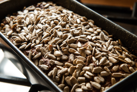 LoGI-Brot frisch aus dem Ofen