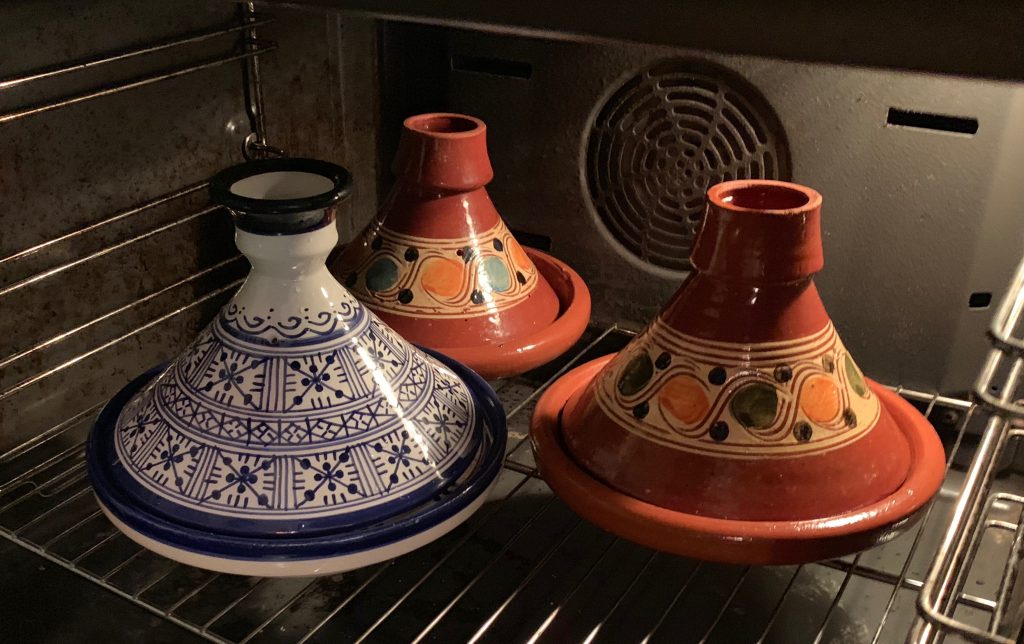 Marokkanische Tajines im Ofen